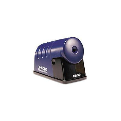 X-Acto(R) By Boston(R) Powerhouse(TM) Electric Sharpener, Translucent Blue