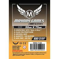 Mayday Games 7126 Custom Card Sleeves 50 x 75mm
