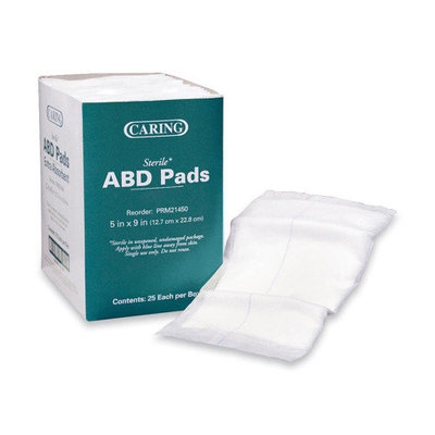 Medline Industries, INC. Abdominal Pads, Sterile, 5