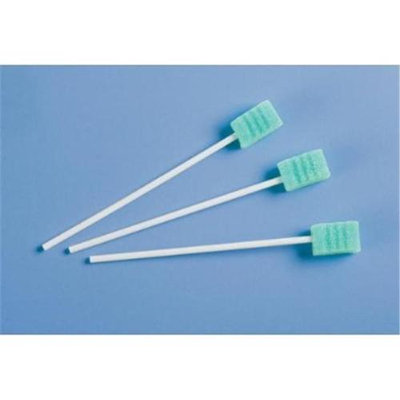 Medline Diposable Oral Swabs with Dentifice (Case of 500)