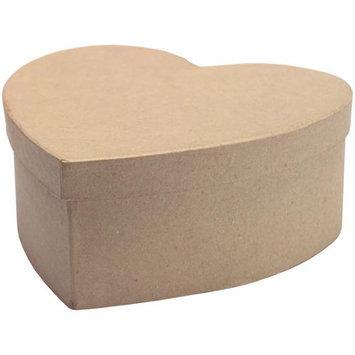 Dcc Crafts Paper Mache Heart Box-7-1/2