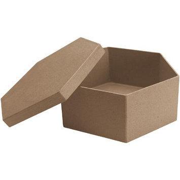 Dcc Crafts Paper Mache Hexagon Box-7 X7 X3
