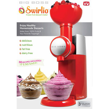 Big Boss Swirlio Frozen Fruit Dessert Maker