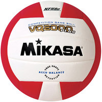 Mikasa VQ2000 Micro-Cell Indoor Volleyball, Black/White