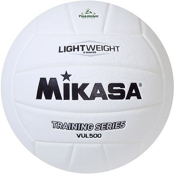 Mikasa Vul500 Youth Starter Training Volleyball, White