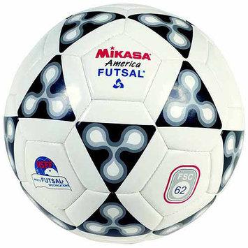 Mikasa FSC62 America Futsal Soccer Ball Size 4 - Black/White/Red