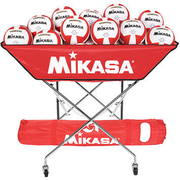 Mikasa Collapsible Hammock Ball Cart Navy