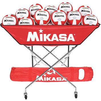 Mikasa Sports Mikasa BCH-MAR Hammock Ball Cart, Maroon