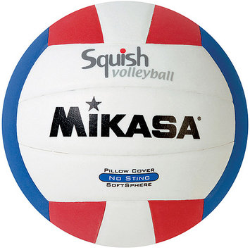 Mikasa Sports Mikasa Red-White-Blue Squish Volleyball