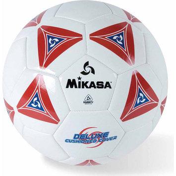 Mikasa Soft Soccer Ball, Size 4, Red/White