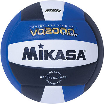 Mikasa Sports Mikasa VQ2000 Micro-Cell Indoor Volleyball, Royal/Black/White