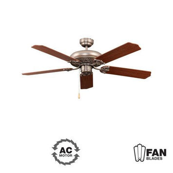 Craftmade International MAN52AN5 Manor Antique Nickle 52 in. Ceiling Fan