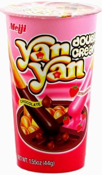 Meiji Yan Yan Double Cream Snack