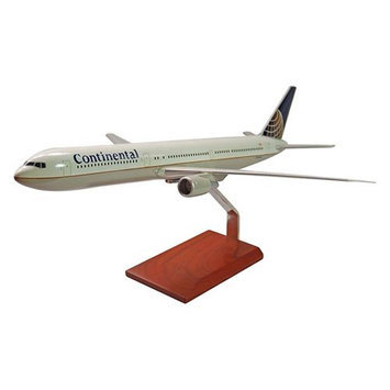 Toys & Models Toys and Models KB767CATR B767-400 Continental 1/100 Scale Model Airplane