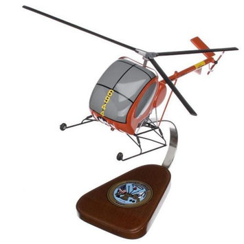 Model Planes TH-55 Trainer 1/30 Scale Model Helicopter
