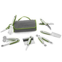 Wolfgang Puck 12 pc Complete Prep Set with Storage Case (Green)