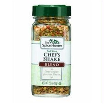 Spice Hunter B06338 Spice Hunter Salt Free Chefs Shake Blendjars -6x2oz