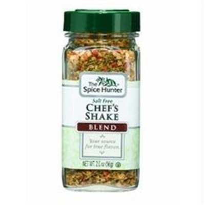 Spice Hunter B06338 Spice Hunter Salt Free Chefs Shake Blendjars -6x2oz