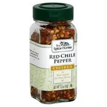 Spice Hunter Chile Pepper, Red Crushed (6x6/1.3 Oz)
