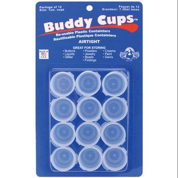 Speedball Art Products 10229 Mona Lisa Buddy Cups .25 Ounce 12-Pkg-Clear