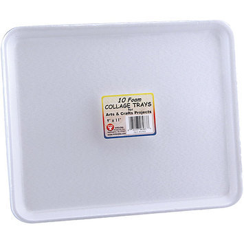 Hygloss NOTM343210 - Foam Collage Trays 9