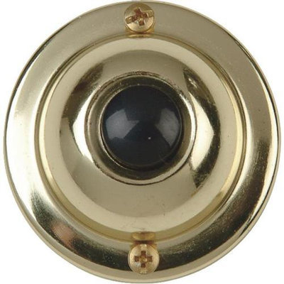 Carlon Brass Base/Black Button DH1605 by Thomas & Betts