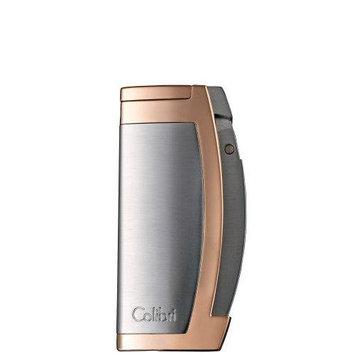 Colibri Enterprise Lighter Matte Black/Satin Rose Gold Finish