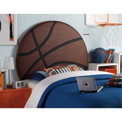 Upholstered Basketball Twn HB - Powell Furniture 890-039