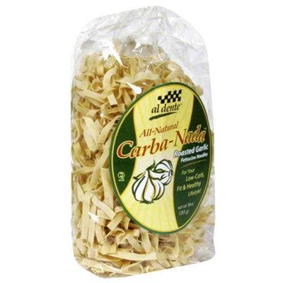 Al Dente Carba-Nada Roasted Garlic Fettucine Noodles - 10 oz