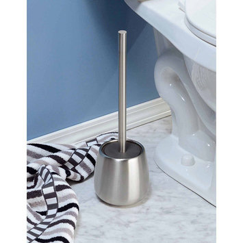 InterDesign Forma Brizo Bowl Brush, Brushed Stainless Steel
