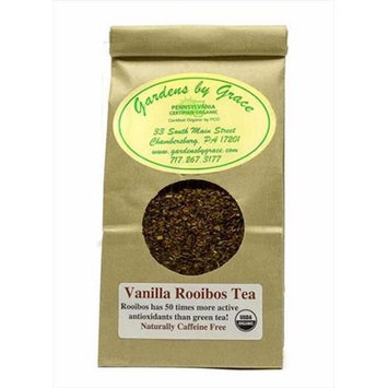 Gardens By Grace 09584X Tea Organic Loose Leaf Vanilla Rooibos 4 Oz