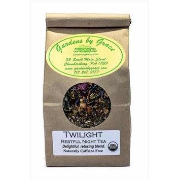 Gardens By Grace 09605X Tea Organic Loose Leaf Twilight Relaxation 4 Oz