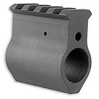 Midwest Industries Black Railed Gas Block- Upper Height MCTAR-UHGB