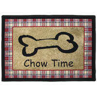 Park B Smith Ltd PB Paws & Co. Multi Chow Time Tapestry Rug