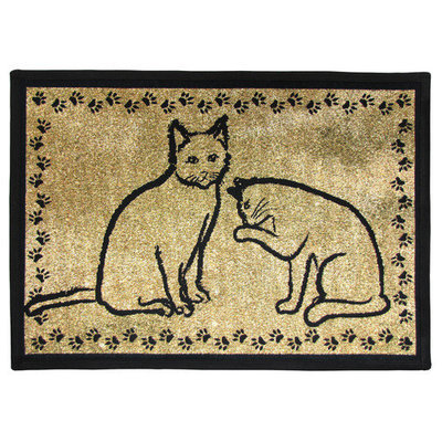 Park B. Smith Kitty Pals Pet Mat, 13 x 19 in.