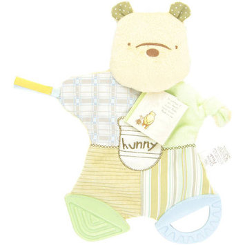 Kids Preferred Classic Pooh Flat Blanky Teether