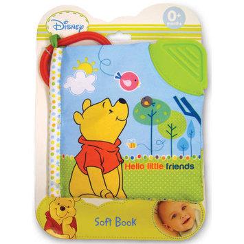 Disney Baby Pooh Hello Little Friend Soft Book