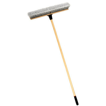 Cequent Laitner Company Laitner Brush Company 18 Heavy Duty Indoor Push Broom