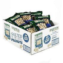 Hampton Farms In Shell Peanuts (6 oz. bags, 24 ct.)