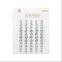 Queen & Co CSB-1545 Candy Shoppe Bubbles 60-Pkg-Clear