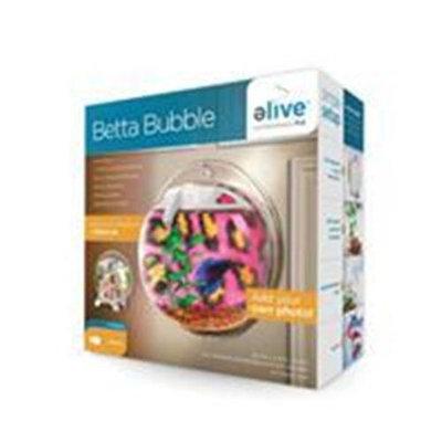 Elive Betta Bubble Aquarium - .5 gal. - White