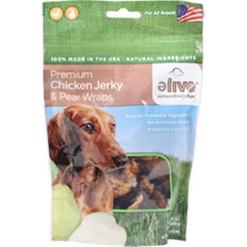 ELIVE Premium Chicken Jerky And Pear Wraps