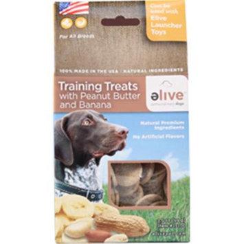 Elive. 034256 Training Dog Treats - Peanut-Banana 3.5 Oz.