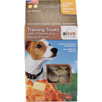 Elive. 034259 Training Dog Treats - Cheese-Bacon 8 Oz.