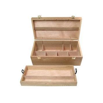 Art Alternatives Wood Box Supply Chest