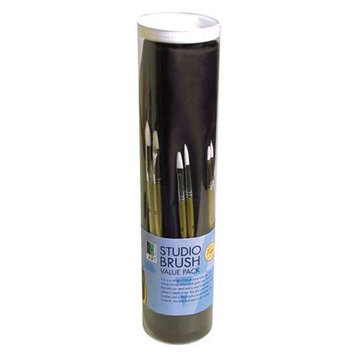 Art Alternatives Brush Bundle Studio Pack With Holder