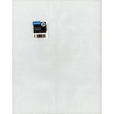 Darice 50736 Plastic Canvas 7 Count 10 in. x 13 in. Clear Pack of 12