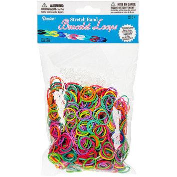 Darice Inc Darice RB1015 Mini Rubber Bands 1000-Pkg with 36 Clips-Multicolor