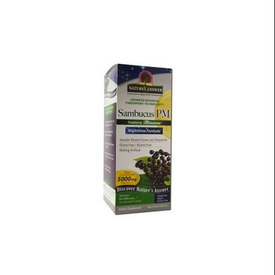 Nature's Answer Sambucus PM Nighttime Formula - 5000 mg - 4 fl oz