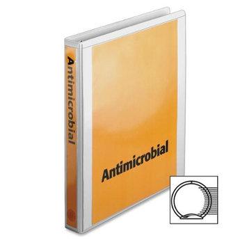 Cardinal Antimicrobial Locking Round Ring View Binders 1